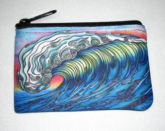 The Wave Coin Bag