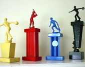 instant trophy collection for your enjoyment primary color set of four