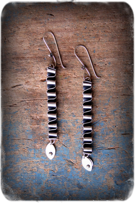 Made-to-Order: Kairos- Sterling Silver Earrings