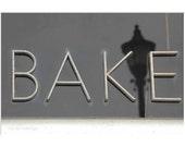 Bake - 5x7 photograph