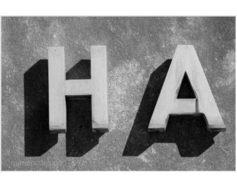 HA -  4 x 6 photograph