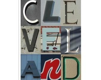 CLEVELAND - 5 x 7 photograph