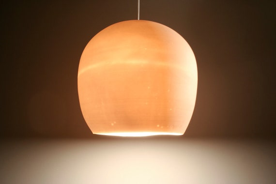 Pendant Light: Porcelain Egg.