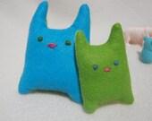Rectangular Kitty Duo