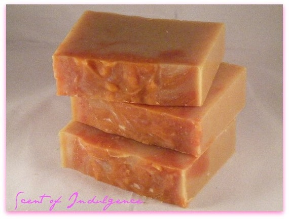 BERGAMOT GRAPEFRUIT Olive and Shea Butter Soap