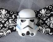Stormtrooper Black & White Hair Bow - Star Wars