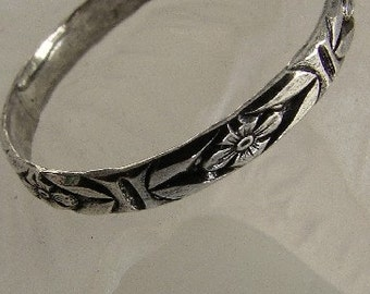 Sterling Silver Band Ring or Toe Ring