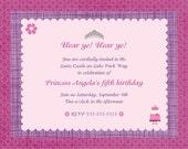 Princess Party Invitations-12