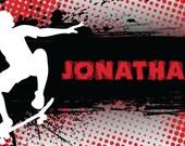 Treat Bag Labels-Skateboarding