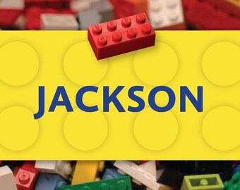 Building Block Name Magnets