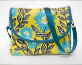 """iSacha Purse - designed to carry your iPad in style - """"Sunshine"""""""