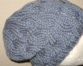PATTERN - Slouchy Cable Cap/Hat