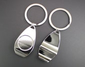 Bottle Opener Key Fob Ring Finding, 5 Pieces