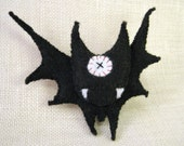 MOSTRINI PIN 7 (black bat)