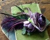Corcoran - Garden Fae - Hair Art Fascinator Clip