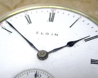 Vintage Elgin National Watch Company Pocket Watch - circa 1907 - 17 Jewel - 16 Size