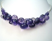 Awesome Amethyst Briolette Necklace