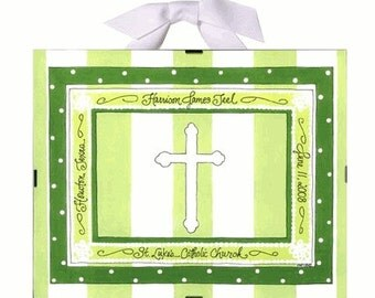 Christening Gift  or Baptism Gift - Personalized