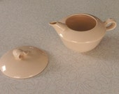 Homer Laughlin Vintage Jubilee Creamer and Sugar Lid - Retro
