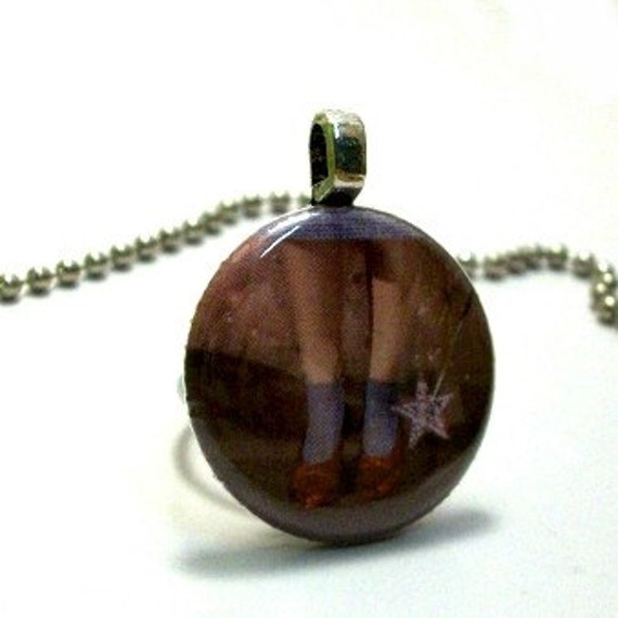 Wizard of Oz Ruby Slippers Pendant