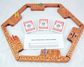 Pegs and Jokers Game Set - Lacewood