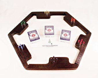 Pegs and Jokers Game Set - Wenge