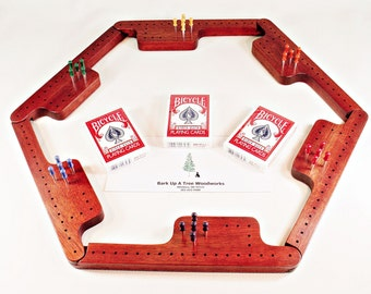 Pegs and Jokers Game Set - Bloodwood