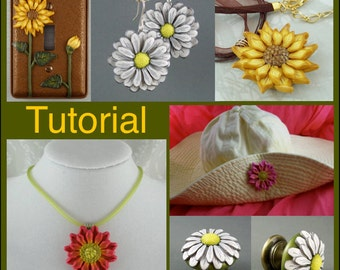 Sculpted Flowers PDF Tutorial