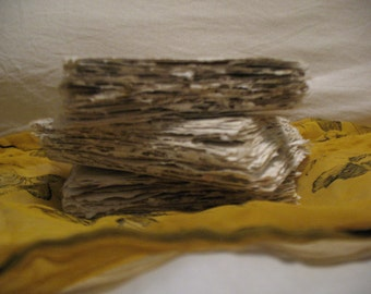 Handmade Mullein Paper for Intentions