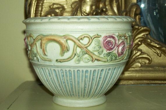 SALE Weller Art Pottery Roma Small Jardiniere