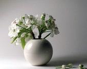 White Porcelain Vase - Mid Size - ON SALE