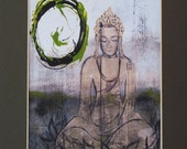 What The Buddha Sewed Print 1  8x10