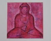 Bubble Gum Buddha 10x10 Print