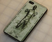 Han Solo Carbonite iPhone 4 sticker