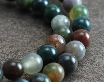 Fancy Jasper Beads 6mm Round - full strand
