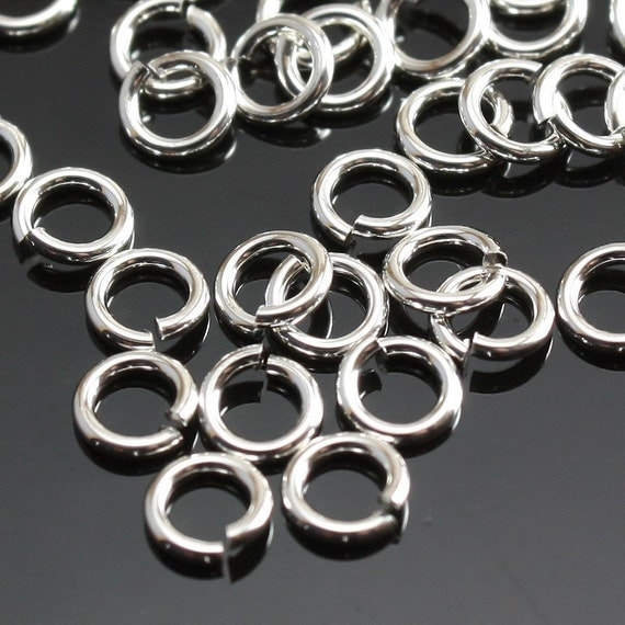 Sterling Silver Jump Rings 4mm 20ga open - 20 pieces