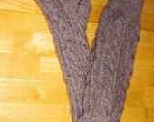 Over-Knee Aran Socks