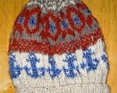 Fair Isle Ski Hat--CUSTOM ORDER