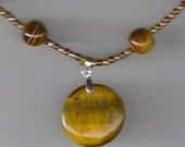 Tiger Eye Beaded Necklace\/Item 245