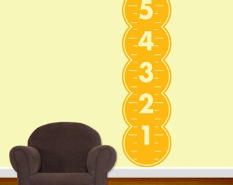Bubble Growth Chart Vinyl Wall Decal Sticker  DB105