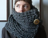 The Claire Cowl in BLACK - Reserved