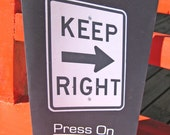 Keep Right  Press On --- Encouraging Greeting Card --- FREE SHIPPING IN U.S.