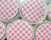 1 Doz Designer POLKA-DOTS Chocolate Covered Oreos Birthday Baby Shower Party Favor