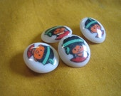 Little Indian Buttons (1970s)