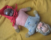 Two Misses Topsy Turvy Doll (1930s)