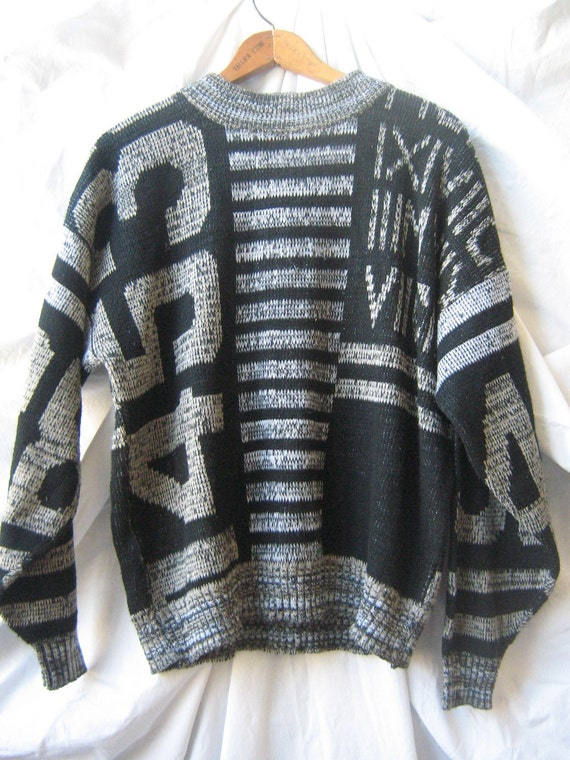 Numbers Pullover (1980s)