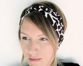 The Turban Headband- In Knit Giraffe Print, bohemian style