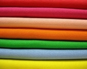 Summer Solids - Japanese Cotton Canvas - Half Yard Bundle of 7 Colors