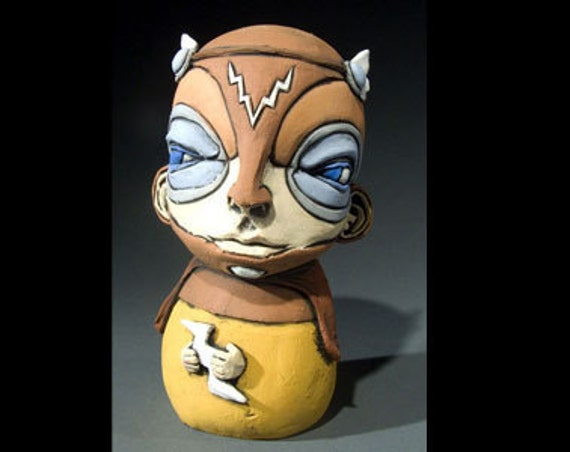 One Last Time - Ceramic Sculpture Psycon