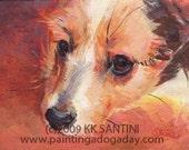 Terrier Pup Portrait Nellie